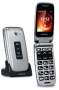 MY-PHONE RUMBA CON BASE DI RICARICA SILVER