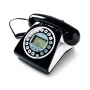 TELEFONO 252 FISSO VINTAGE CON DISPLAY BLACK