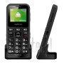 MY-PHONE HALO MINI 2 CON BASE DI RICARICA BLACK
