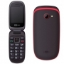 MAXCOM MM818 TASTO SOS DUOS BLACK/RED